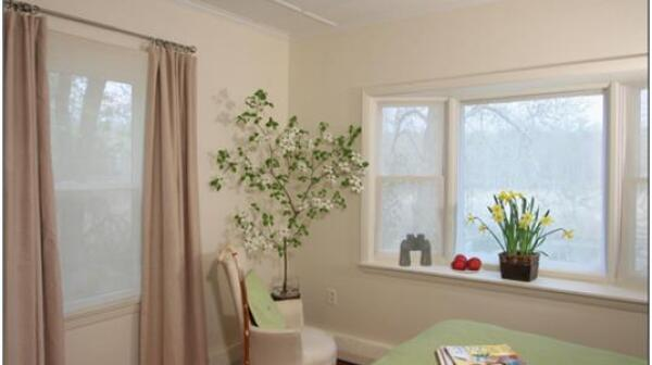 A soothing, safer bedroom for better mobility and comfort.