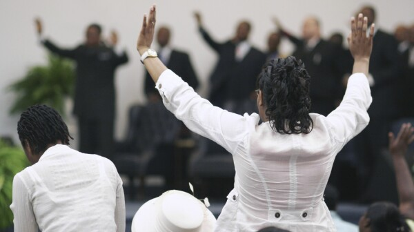 Black Church Service
