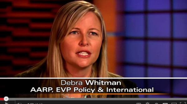 Deb Whitman video screen shot
