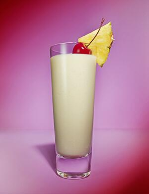 AARP, The Girlfriend, Pina Colada, Cocktail