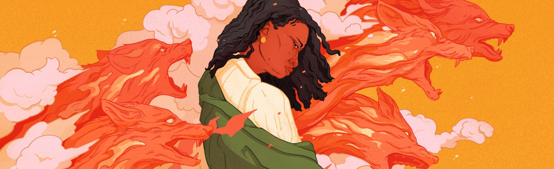 illustration_of_black_woman_surrounded_by_angry_wolves_by_dani_pendergast_1440x584