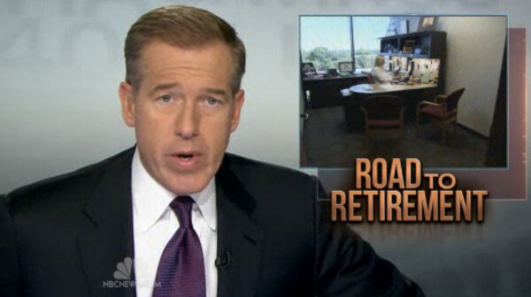 Brian Williams NBC Nightly News Road to Retirement