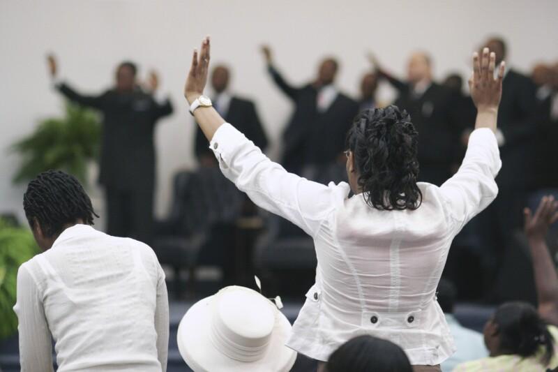 Black Church Service