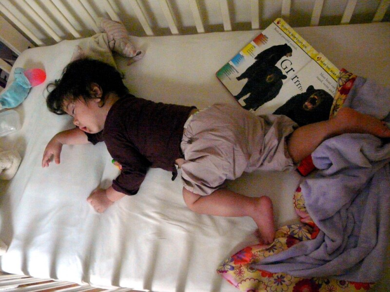 Baby naps after reading