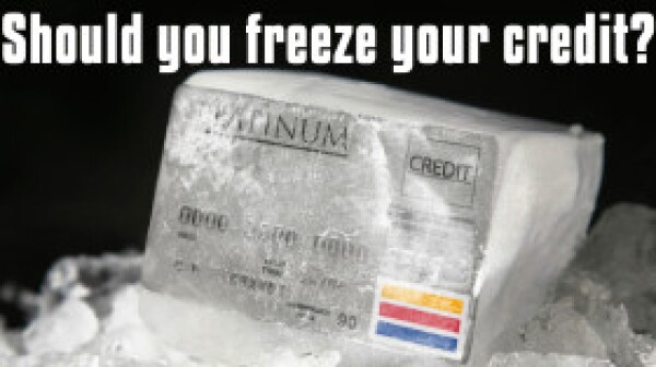Frozen Credit