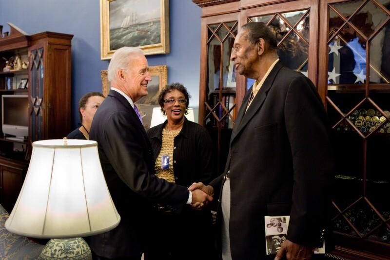 Biden-greets-Earl-Lloyd-WH
