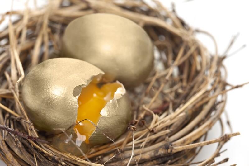 Disappearing Nest Egg