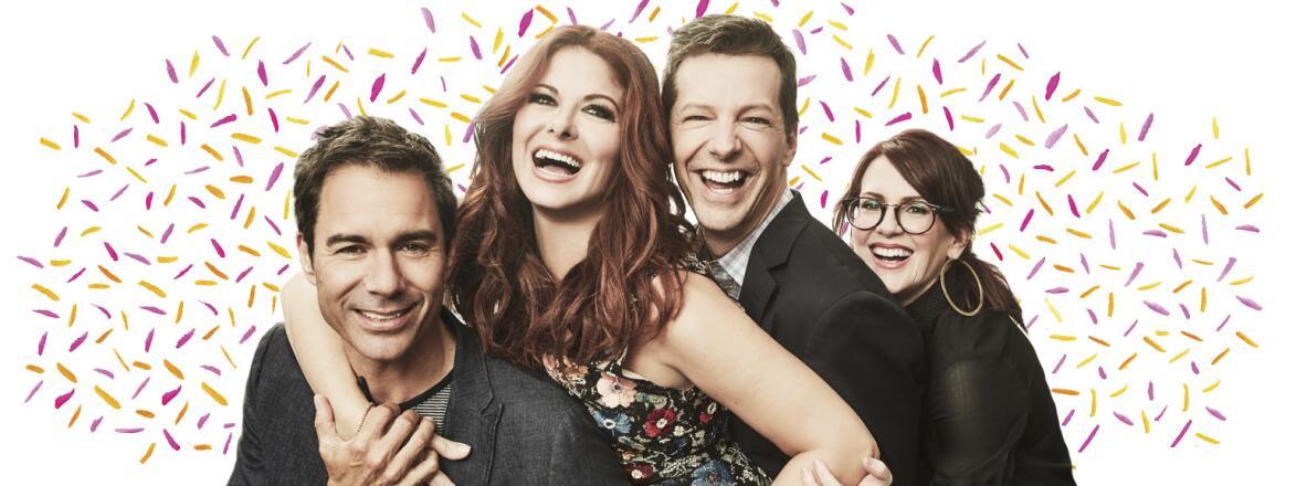 AARP, The Girlfriend, Will and Grace, Eric McCormack, Debra Messing, Megan Mullally, Sean Hayes, NBC, Must See TV, reboot