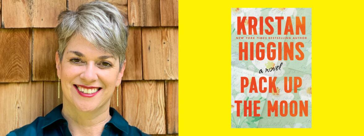 kristin, higgins, author, pack up the moon, book