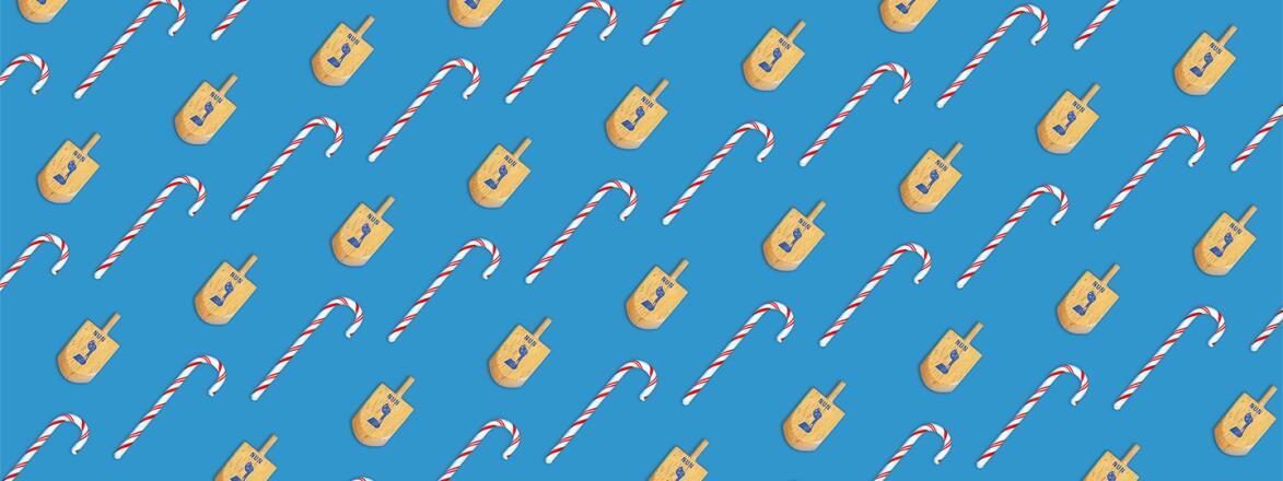 pattern_of_christmas_candy_canes_and_jewish_dreidels_by_chris_oriley_1440x560