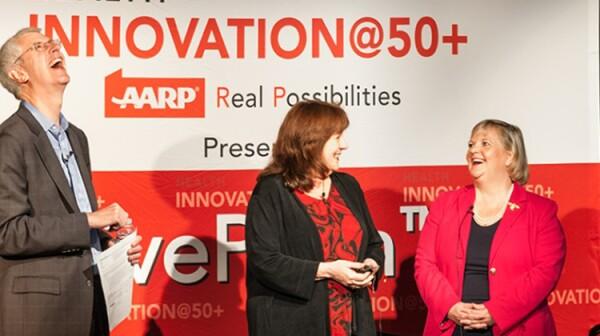 Innovation @ 50+ Live Pitch Event