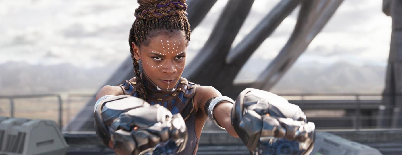 An image from the movie Black Panther.