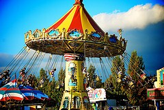 Took this at the Evergreen State Fair in Washington State. Loved the colors
