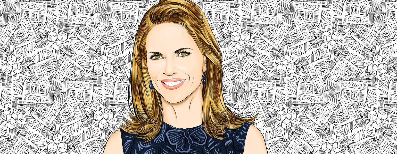 illustration of former news anchor natalie morales