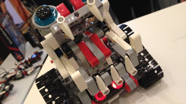 Lego Mindstorm dog robot