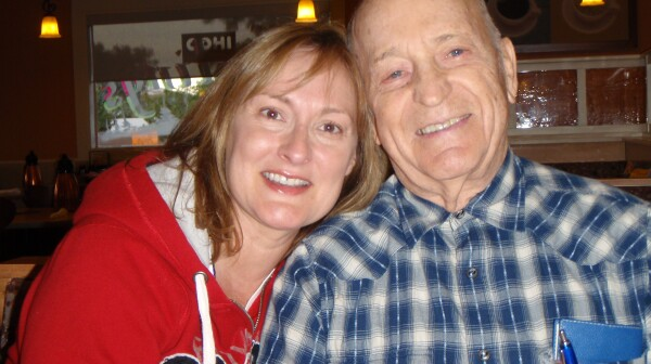 Amy Goyer Lives fathers Day every day with Dad who has Alzheimers.
