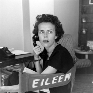Eileen Ford on phone