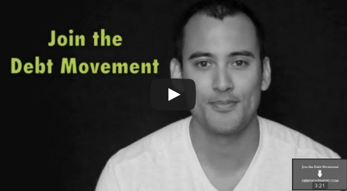 Debt movement visual for video