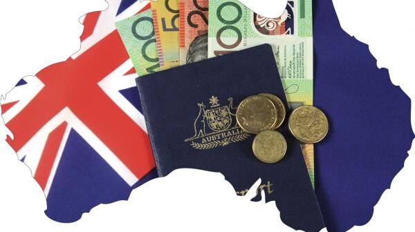 Australia Money Map