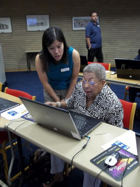 Computer assistance in a library