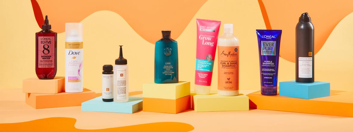 Best inexpensive hair products for the summer.
