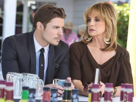 Josh Henderson and Linda Gray