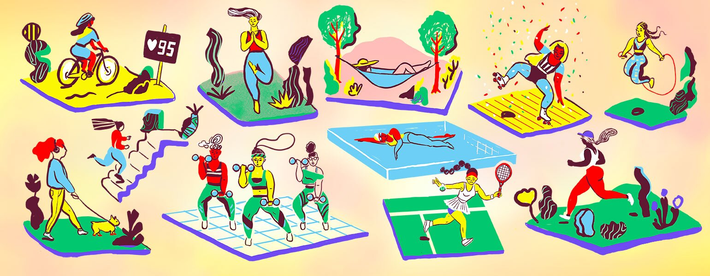 fitness, aarp, the girlfriend