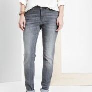 Loft Modern Skinny Jeans in Retrograde Grey Wash