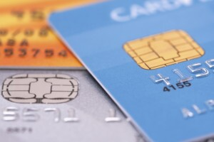 Credit cards with EMV chip