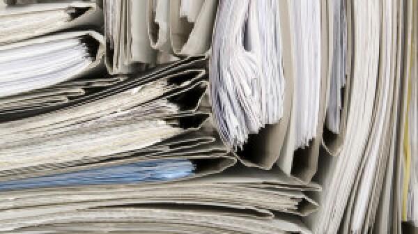 Paperwork clutter