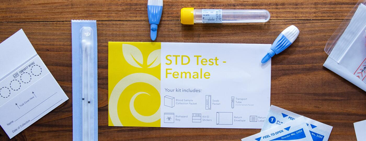 image of everlywell std test kit