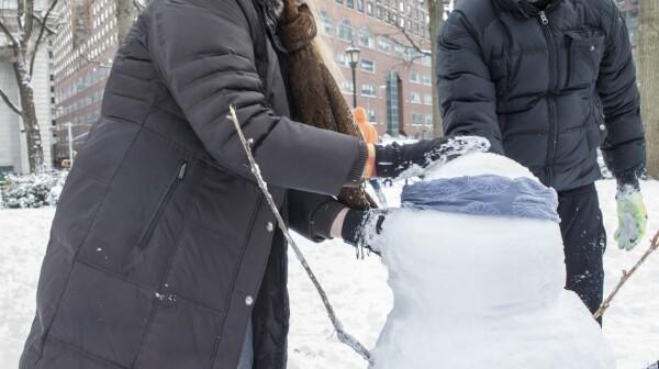 Building a Snowman in Manhattan
