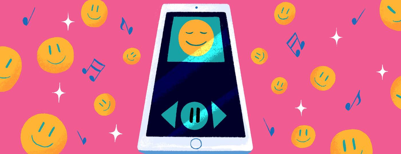 illustration_of_happy_faces_and_phone_for_Dont_Worry Be_Happy_spotify_playlist_ by_Charlot_Kristensen_1440x584.jpg