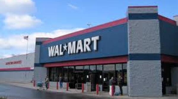 Wal-Mart store front