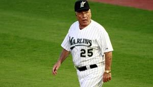 Jack McKeon, interim manager of Florida Marlins