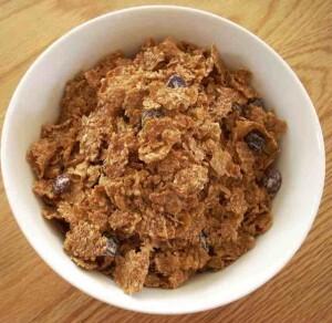 bowl of bran