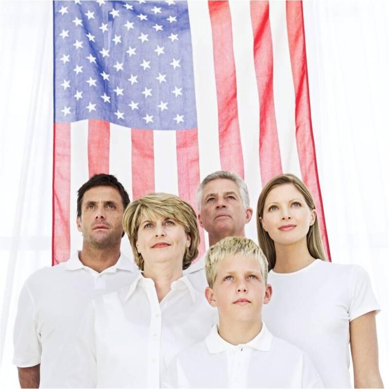 American multigen family
