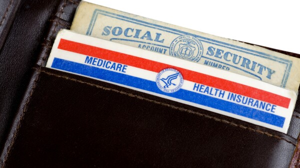 Social Security and Medicare cards