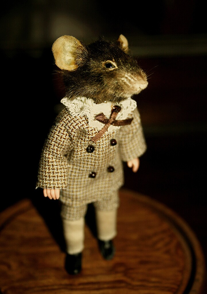 Hieronymouse the Mouse - Dressed as Human