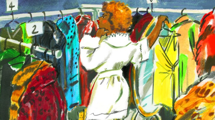 illustration_of_woman_looking_at_clothes_rack_by_mokshini_612X386