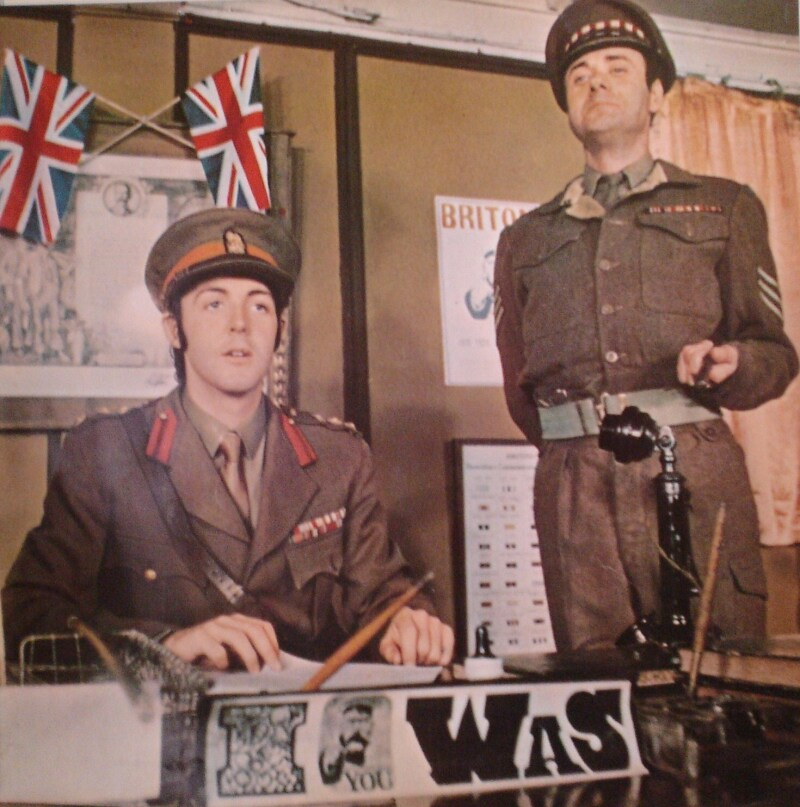 With McCartney, from the Magical Mystery Tour album booklet