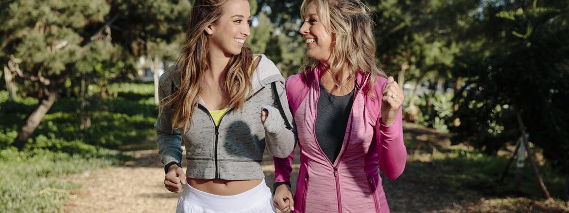 AARP, The Girlfriend, Denise AUstin, Katie Austin, workout, fab, fit, fun, get in shape