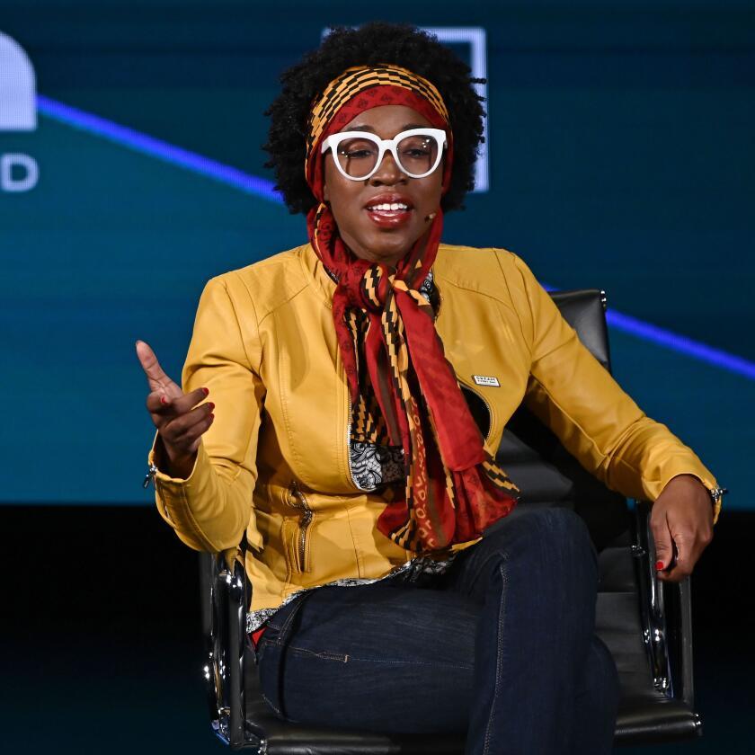 Joy Buolamwini portrait