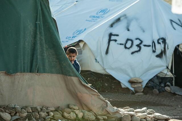 Syrian Child in Refugee Camp