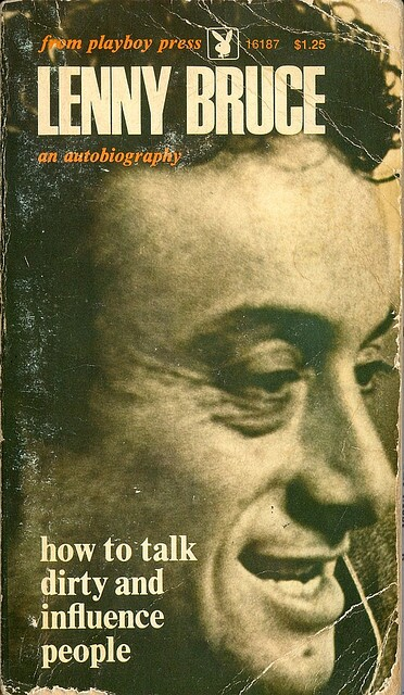Lenny Bruce: Book Cover - How to Talk Dirty