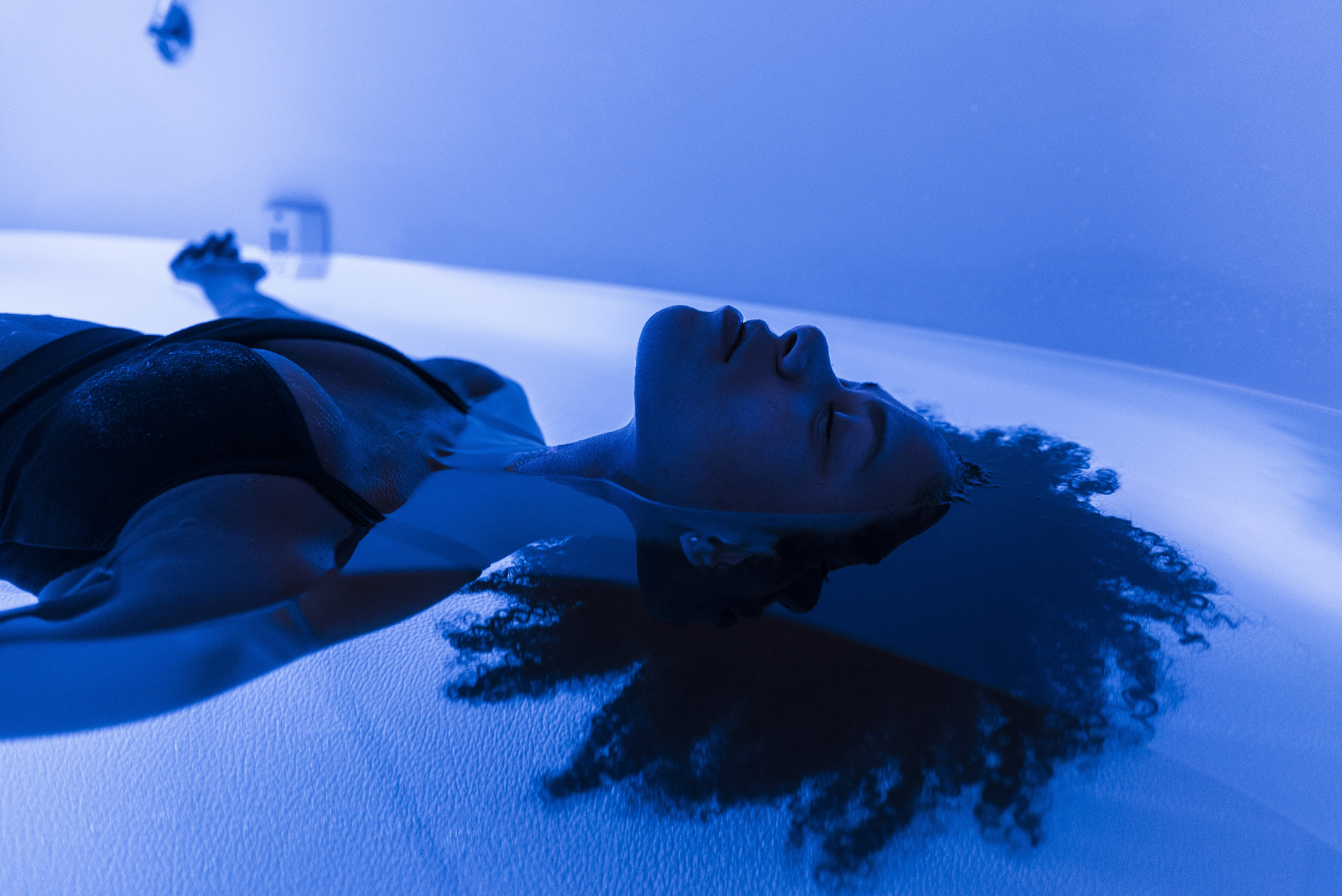 sensory deprivation tank, aarp, the girlfriend, massage, therapy, relaxation