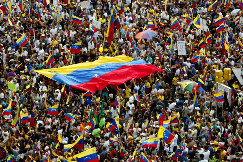 Demonstrations Continue In Caracas
