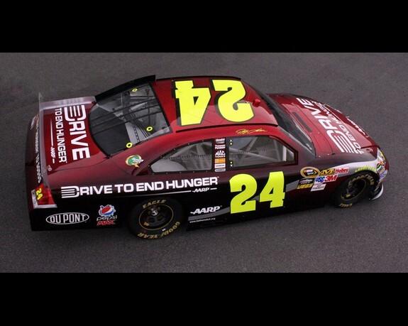 DTEH: Jeff Gordon Car Unveiling
