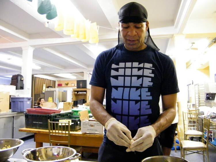 Soup Kitchen Volunteer T.A. Johnson