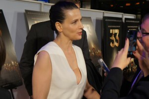 "Juliette Binoche at the Washington, DC premiere of ""The 33"""